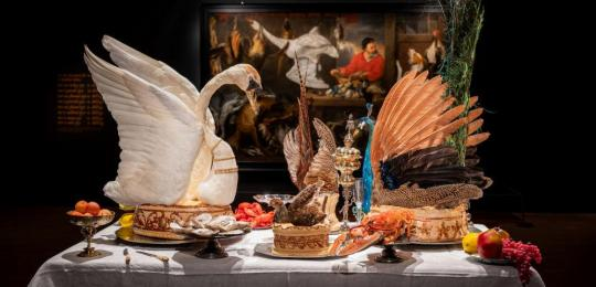 Image from the Feast Fast exhibition, Fizwilliam Museum
