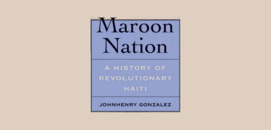 Gonzalez: Maroon Nation